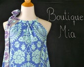 SAMPLE - Ladies Mushroom TOP - Amy Butler - Will fit size XL- by Boutique Mia and More - Ready To Ship