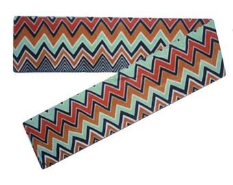 Scarf Headband, Headband Scarf, Aztec Print Headband, Headbands with Long Tails, Stretchy Headband, Stretchy Head Band, Womens Head Scarf