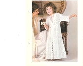 Young Girls Crocheted Lace Robe Pattern - PDF - Download