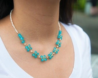 Cerulean Bliss Necklace