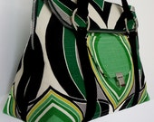 EMERALD CITY Satchel