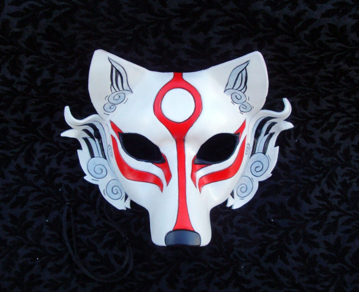 Japanese wolf mask - photo#20