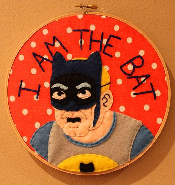 Hank Venture Batman Hoop