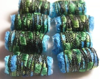 Next time she's feeling artistic we think she should just stick to basic black.Fiber Bead Jewelry Component tube loose