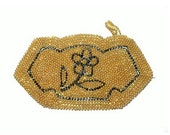 Vintage Beaded Clutch Pur...