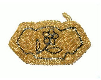Vintage Beaded Clutch Purse La Regale Product Made in Japan