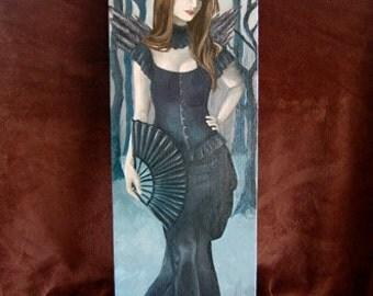 Vampire Painting ORIGINAL Painting Original Art Vampire Art Fantasy Art Gothic Art Halloween Art