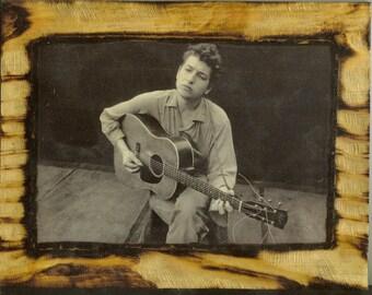 Bob Dylan - Wooden Plaque