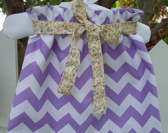 My Carrie Custom Purple Chevron Paper Bag Skirt Belted for Girls