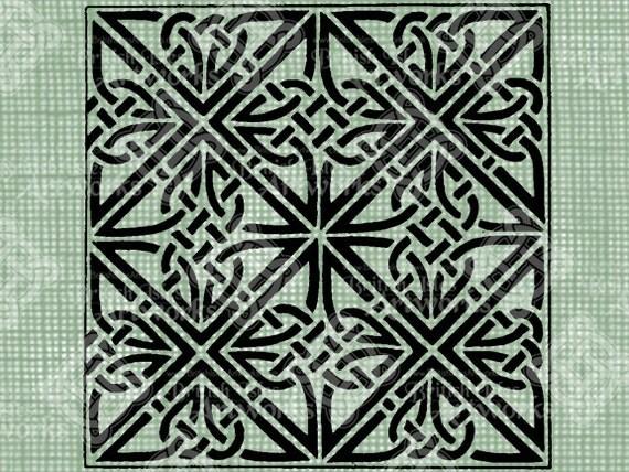 Digital Download Celtic Knot Square digi by ...