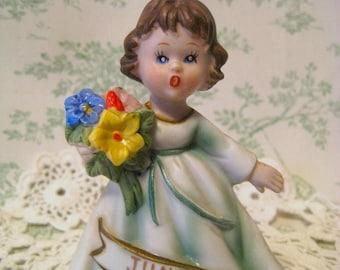 Vintage JUNE BIRTHDAY GIRL Figurine