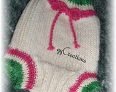 KNITTED SOAKER...Organic Yarn size Small...Close Out Sale...
