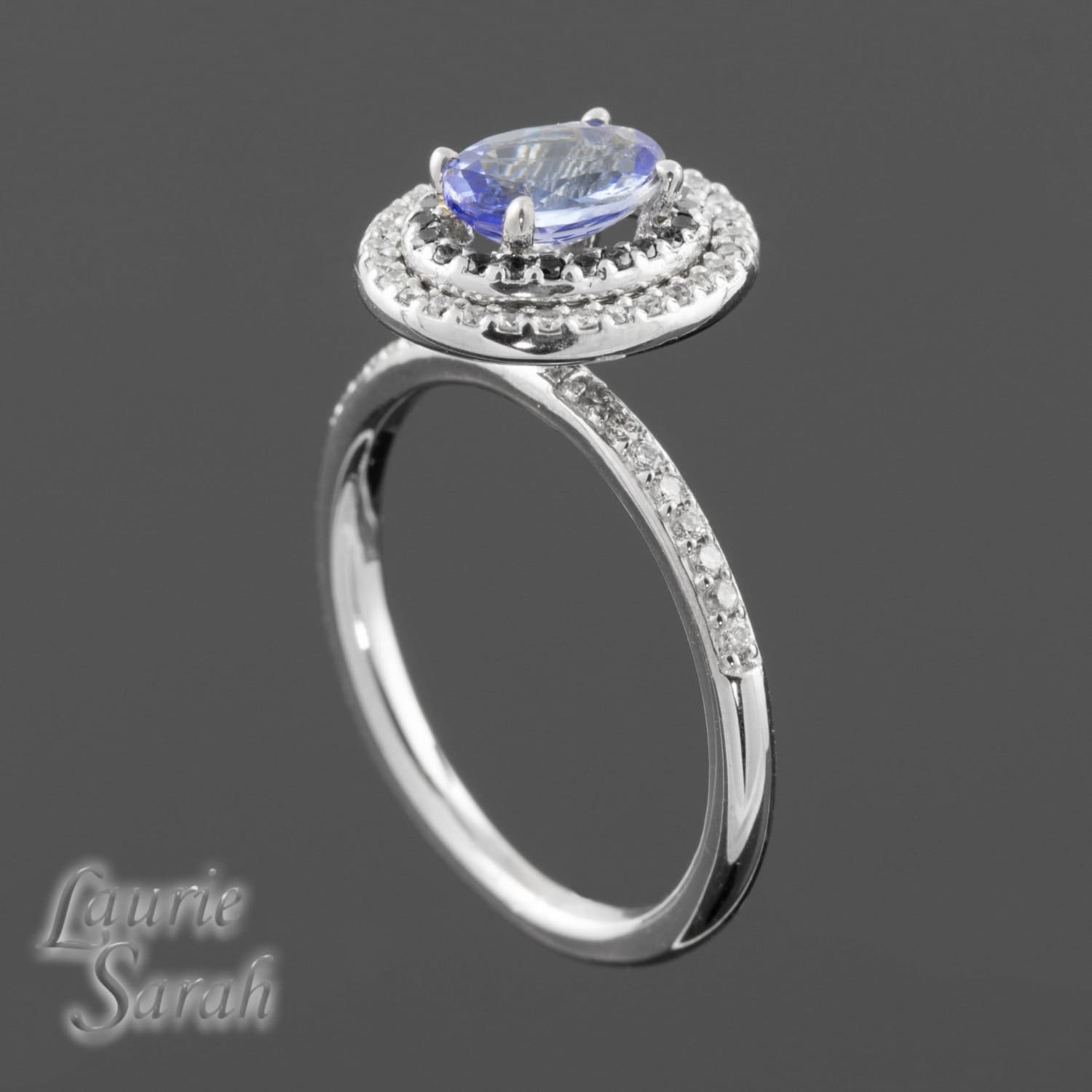Engagement Ring Tanzanite Right Hand Or By LaurieSarahDesigns
