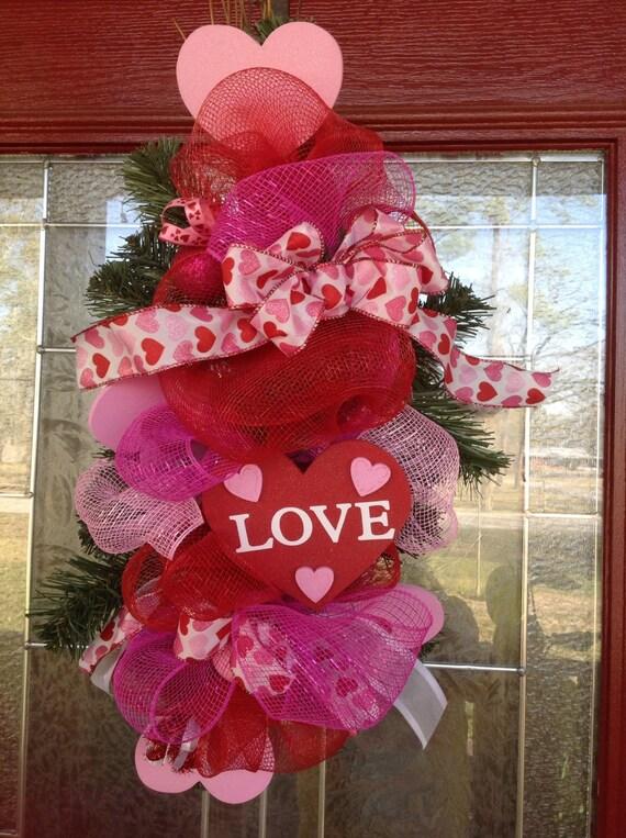 Valentine Door Hanger Or Table Center Piece By Samthecrafter
