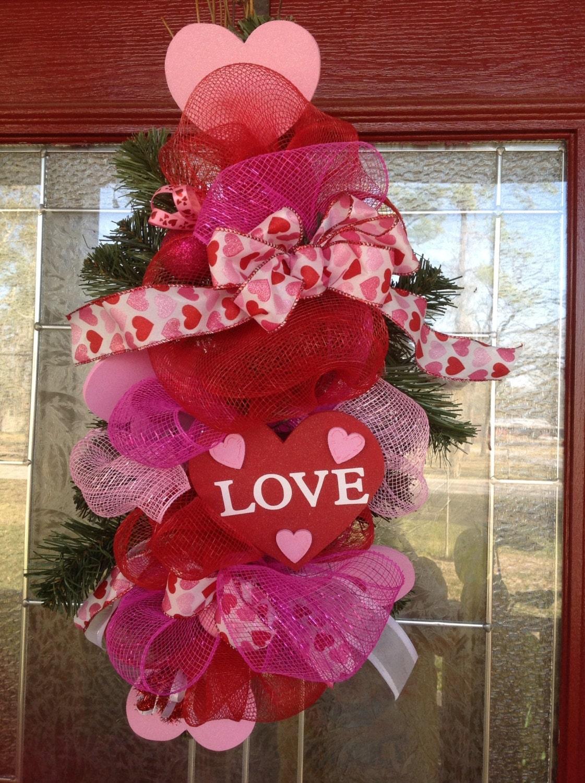 Valentine Door Hanger Or Table Center Piece Design By