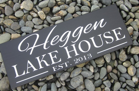 Custom Family Name Wood Sign Lake House Sign Cabin Sign Shore HouseThank you gift personalized Christmas Present
