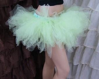 Pastel Mint Green Trashy Ballet TuTu Skirt Adult All Sizes MTCoffinz