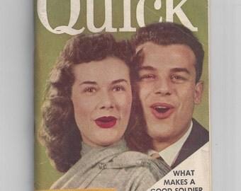1950s Quick Magazine News Weekly Womens Fashion Julius La Rosa and Lu Ann Simms May 4 1953