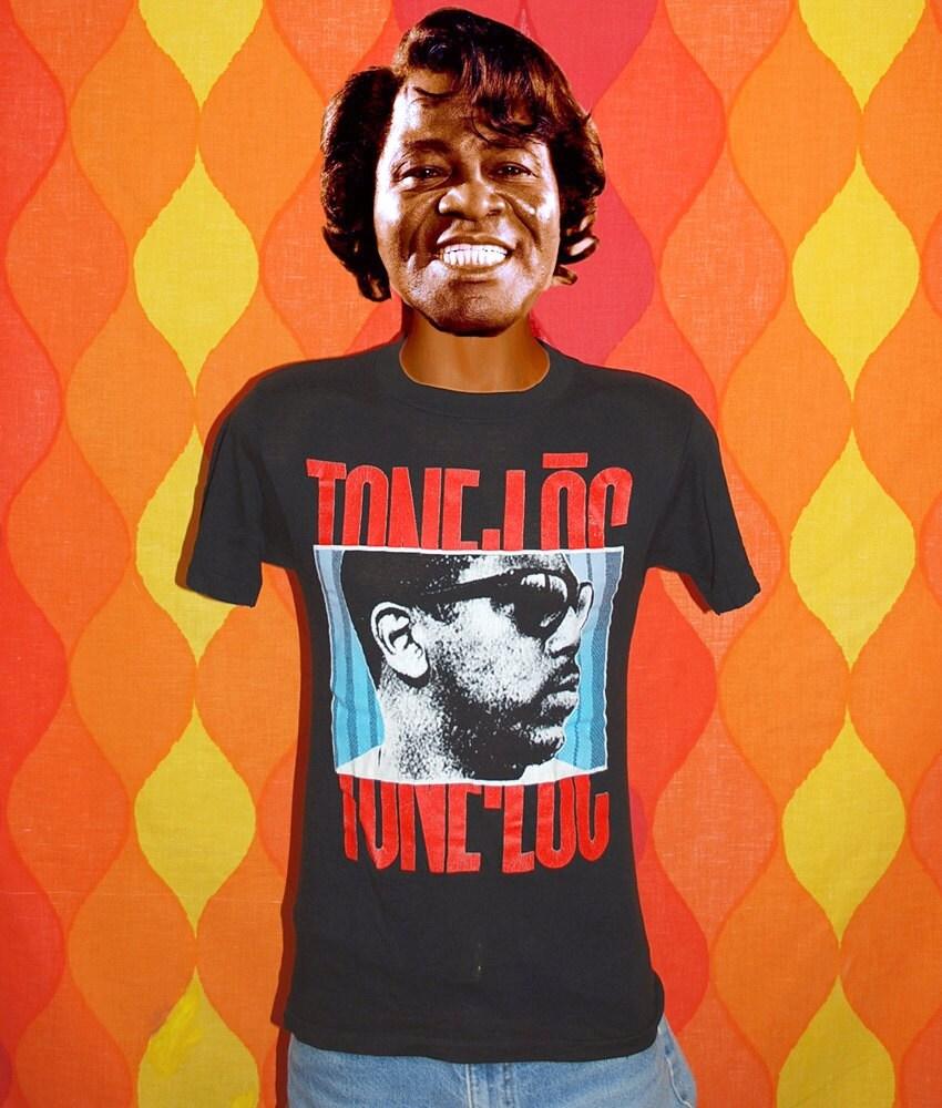 Top 50 Muppets Loc 80: T-shirt Vintage 80s Concert Tee Shirt Tone Loc WILD THING Rap