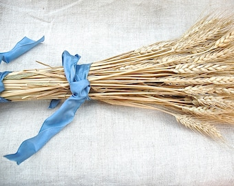 Western Wedding Golden Wheat Bouquet
