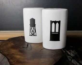 Brooklyn Salt and Pepper Shaker Set