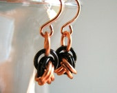 Love Knot Chainmaille Earrings