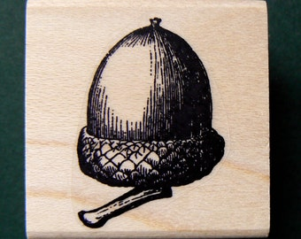 Acorn rubber stamp WM P3