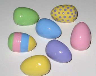 Decorated Colored Easter Egg Push Pins for Bulletin Board