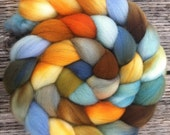 Handsome Fisherman - Hand dyed Polwarth Combed Top - 5.9oz