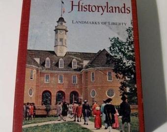 Vintage 2 Book set - America's Historylands and America's Wonderlands