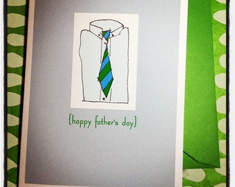 Father's Day single card - Happy father's day