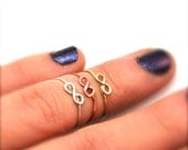 Knuckle Ring - Infinity - Dainty Midi Ring