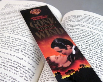 Gone with the Wind Recycled Bookmark