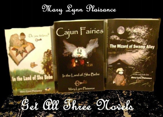 SALE and FREE shipping- Books by Author, Mary Lynn Plaisance - In the Doll Land of Sha Bebe Chronicles - Collectible Books.A Must Have.