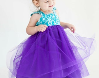 Tulle Dress Sewing Pattern PDF Tutorial ebook -- Almost Famous -- NB - 12 girls INSTANT Whimsy Couture