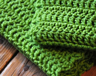 New Leaf - Handmade crocheted scarf