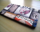 Vintage Vogue - Apple Wireless Keyboard Sleeve - Padded and Zipper Closure