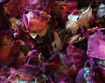 Rose Petals & Buds Red - 1 pound