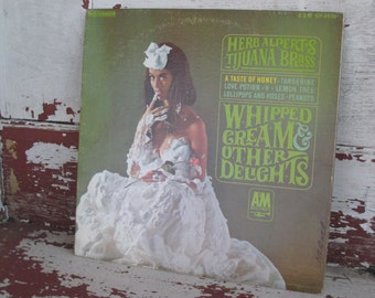 Herb Alpert's Tijuana Brass Whipped Cream and Other Delights 1965 Vintage Record LP (   )