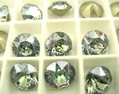 6 Crystal Mystique Swarovski Crystal Chaton Stone 1088 39ss 8mm