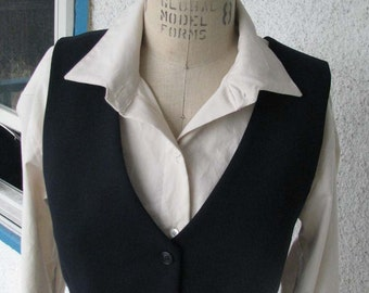 Vest and Pant Suits for Women--Custom Made from Wool and Silk