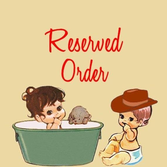 reserved for megan