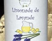Lavender Lemonade Loose Leaf Herbal Tea, Tea, Tisane, Tea in Tin, Gift Tea, Loose Tea, Caffeine Free, Sugar Free