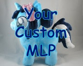 Your Custom My Little Pony Plush Filly - Made to Order