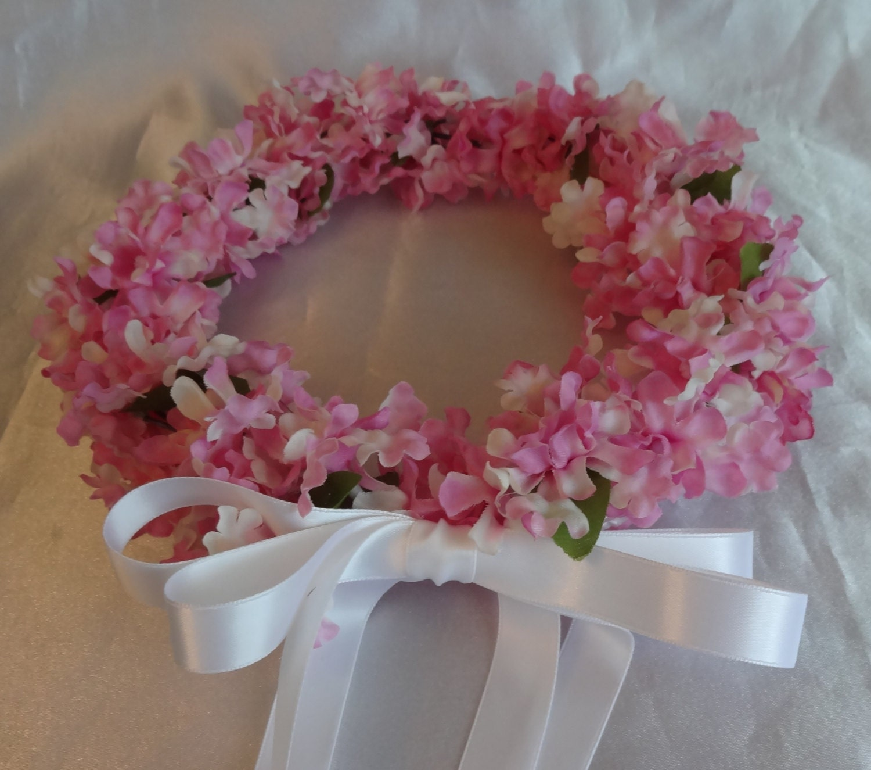 Bridal Flower Wreath For Hair : Bridal hair flower crown wedding girl by