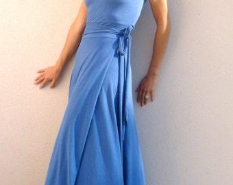 Samone Dress ~ Full Length ~ Bamboo & Organic Cotton ~ Custom Made