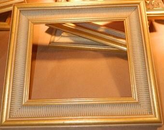"8 x 10"" Gold Wood Frame  2.25"" wide"