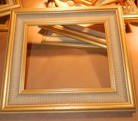 8 x 10 gold wood frame wide. Black Bedroom Furniture Sets. Home Design Ideas