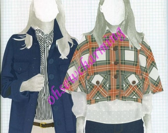 Built by Wendy Sewing Pattern Simplicity 4109 Jacket Sizes 12-14-16-18-20 OUT OF PRINT