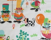 Childrens vintage wallpaper - 50 cm.
